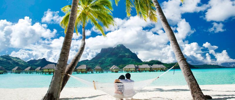 Hold your Breath Bora Bora Hammock